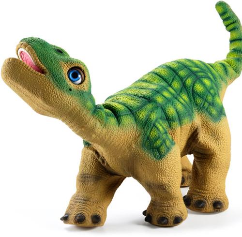 Прообразом игрушки стал новорожденный детеныш карамазавра, травоядного...
